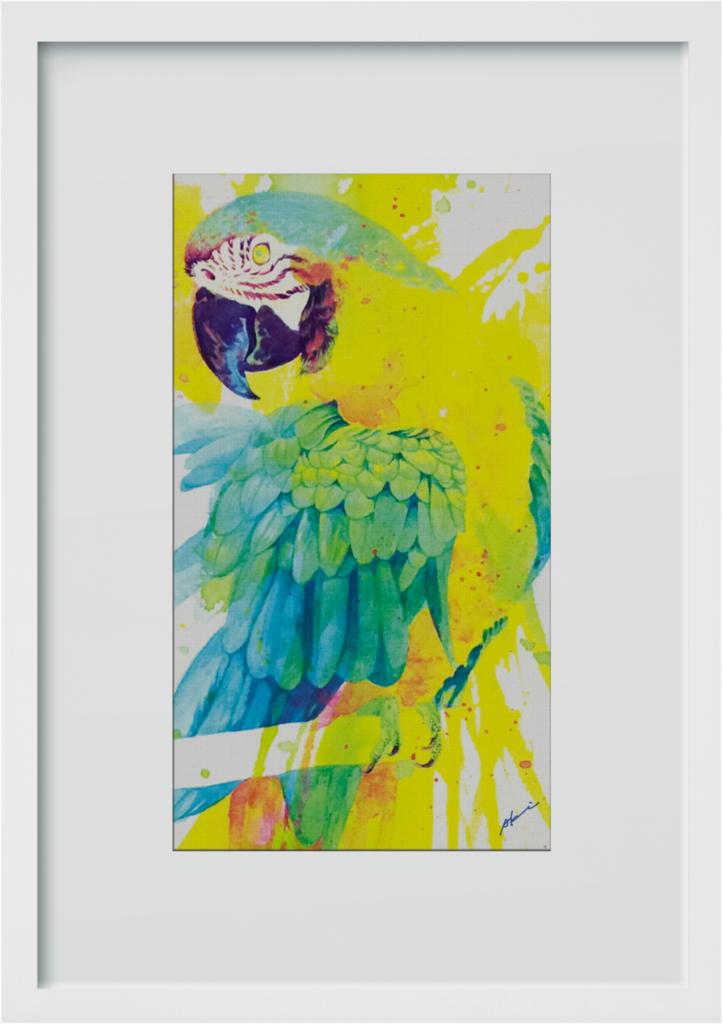 ポスター「ひとり気高い青い鳥」