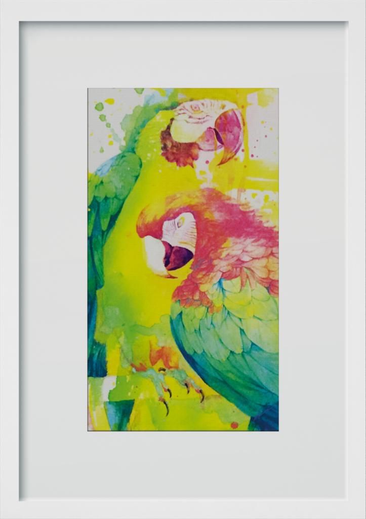 ポスター「二人の関係」